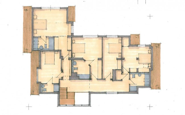 First floor house extension design plans by Inspiration Architects