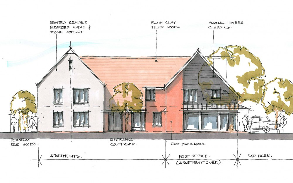 Architectural new home plans for mixed community development by Inspiration Architects.