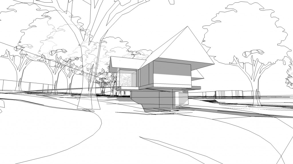 Local Architecture firms in Newbury, Inspiration Architects, concept art of the new home built in Bracknell.